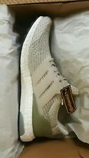 adidas ultra boost pearl grey cargo size 8.5 men new