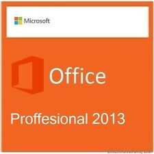 MICROSOFT OFFICE 2013 PROFESSIONAL - 5 User | Full Retail Media |