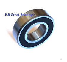 (Qty.1) 6205-16-2RS rubber seals bearing 25.4 x 52 x 15 bearings 6205-16 rs