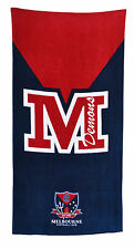 *NEW* LARGE AFL Melbourne Demons Beach Bath Gym Towel Fathers Day Gift