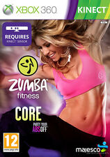 Zumba Fitness Core XBox 360 *in Excellent Condition*
