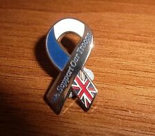 WE SUPPORT OUR TROOPS BADGE