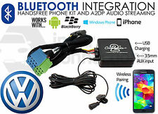 VW Polo Bluetooth adapter streaming music calls CTAVGBT003 AUX MP3 iPhone Pre 05