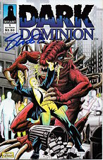 DARK DOMINION # 1  SIGNED EDITION  JIM SHOOTER     NM