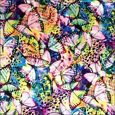 Butterfly Print Satin 100% Polyester 150cm Wide