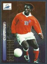 PANINI WORLD CUP 98- #038-HOLLAND & REAL MADRID-CLARENCE SEEDORF