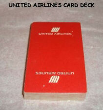 UNITED AIRLINES PLAYING CARDS ARRCO PLAYING CARDCO CHICAGO MADE  USA SEALED PACK