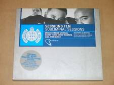 2 CD / SESSIONS TEN / SUBLIMINAL SESSIONS / MIXE PAR MORILLO, ROMERO, NUNEZ /