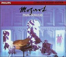 Mozart: Piano Sonatas (CD, Apr-1991, 5 Discs, Philips) Brand NEW Mitsuko Uchida