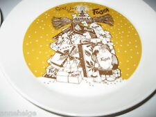 BN MOOMIN FAZER CHRISTMAS TREE PLATE 2014, LIMITED EDITION, DISCONTINUED