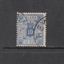 VI 148 ICELAND #O6 OFFICIAL STAMP, USED CDS LC- $15.00 CATALOG