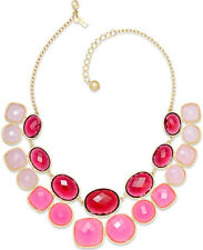 Kate Spade Hancock Park Necklace NWT Ombre Cascade of Pinks & Reds