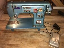 Abraham & Straus Sewing Machine 305 De Luxe Made In Japan Good Working Condition