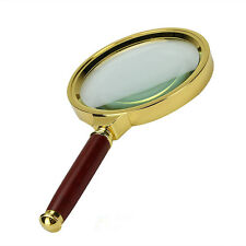 New 90mm Handheld 10X Magnifier Magnifying Glass Loupe Reading Jewelry