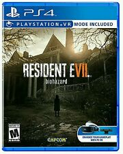 RESIDENT EVIL 7 BIOHAZARD * PLAYSTATION 4 * BRAND NEW FACTORY SEALED!