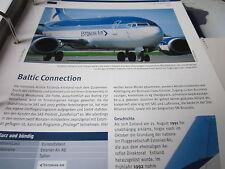 Airlines Archiv Estland Estonian Air Baltic Connection 2S