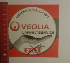 Aufkleber/Sticker: Veolia Umweltservice gestärkt in die Zukunft (23091669)