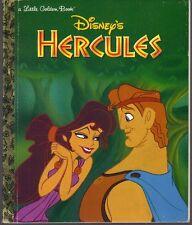 HERCULES ~ Disney ~ Children's Little Golden Book 1st Edition 1997
