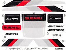 TAMIYA Stickers 24067 1/24S Subaru Alcyone 4WD VR Turbo