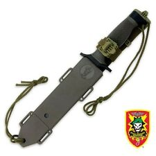SOA Military Commando Survival Bowie Knife and sheath Special Forces Free Ship