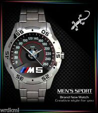 NEW BMW M5 M POWER Stainless Steel Analogue Men's Watch