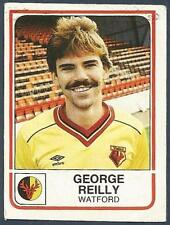 PANINI FOOTBALL 84-#325-WATFORD-GEORGE REILLY