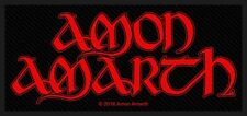 Amon Amarth Rouge Logo Patch/Patches 602673 #