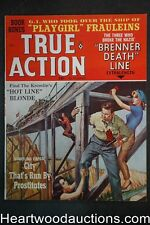 True Action Dec 1964 Rudy Nappi Cvr, Walter Popp; Gil Cohen; Samson Pollen - Ult