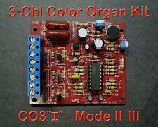3 Channel Color Organ - Improved Control - Light Organ Responds to Sound