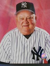 Don Zimmer  NEW YORK YANKEES  8x10 Color Photo Posed  Home Jersey