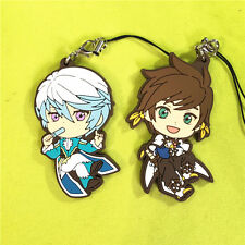 Tales of Zestiria The X Tales of Friends Sorey Mikleo Strap Keychian Rubber 2p
