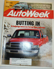 Autoweek Magazine '94 Dodge-Ram & F1 In Spain May 1993 022615r