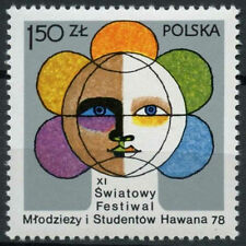 Poland 1978 SG#2552 Youth & Students Festival MNH #A83802