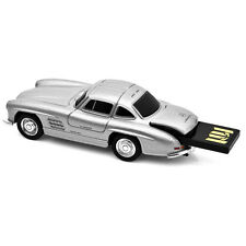 MERCEDES Benz 300sl Gullwing Auto USB Memory Stick 16gb-Argento