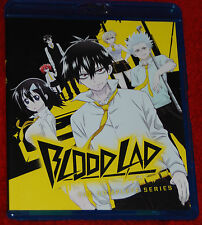 Blood Lad-Complete Series (Blu-ray) ONLY 2 DISC ANIME BLOODLAD 10 EPISODE + OVA
