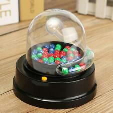 Electric Mini Lucky Number Picking Lottery Bingo Games Shake Lucky Ball Machine
