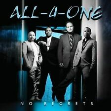 No Regrets by All-4-One (CD, Sep-2009, Concord)