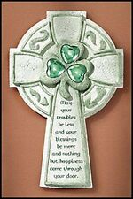 Irish Wall Cross with Home Blessing from Gifts of Faith SKU KS120
