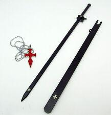 Cosplay Sword Art Online gun gale online Kirito Anime Schwert 30cm mit anhänger