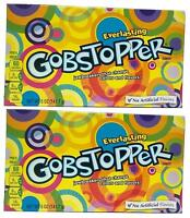 2 x Formally Wonka Everlasting Gobstopper Large Box 141.7g American Retro Sweets