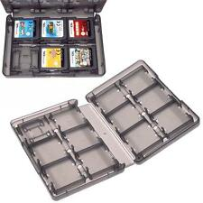 Game Card Black Case Holder 28 in 1 Cartridge Storage Box for Nintendo 3DS XL WT