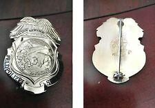 Protective Service Bureau, Feld polize security,  antique police badge