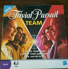 2009 Trivial Pursuit Team Board Game by Hasbro