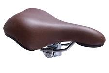 Claud Butler Cambridge Hybrid Comfort TOURING BICICLETTA SELLA SEDILE classico marrone