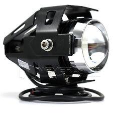 1pcs 125W 3000LM U5 LED Moto Phare Lampe Antibrouillard Spot Feux Avant