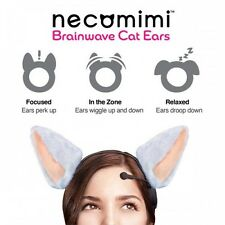 New! NEUROWEAR Necomimi Nekomimi Band Brainwave Controlled Cat Ear Anime Cosplay