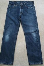 / Mens Jeans size 33 x 30 Levis Strauss 505 Straight Fit blue denim
