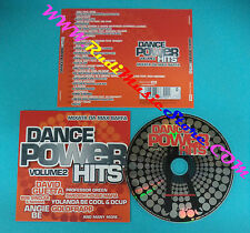 CD Compilation DANCE POWER HITS 2 5099964867021 ITALY 2010 no lp mc vhs(C18)