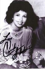 A 6 x 4 inch photo featuring Candi Staton, personally signed by her.