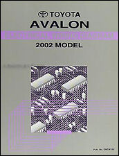 2002 Toyota Avalon Electrical Wiring Diagram Manual NEW Original OEM Schematics